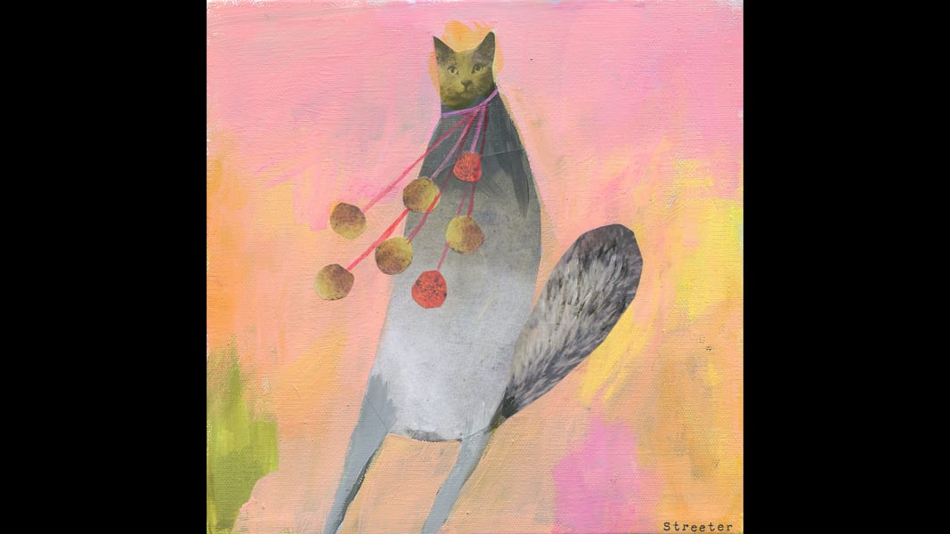 14 cat art show