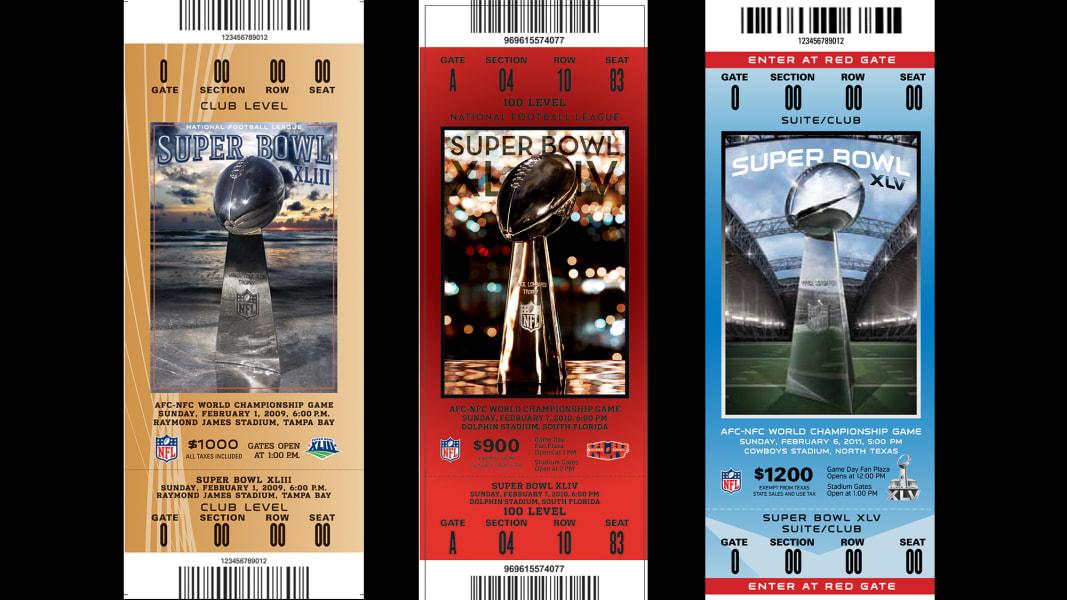 15 Super Bowl tickets