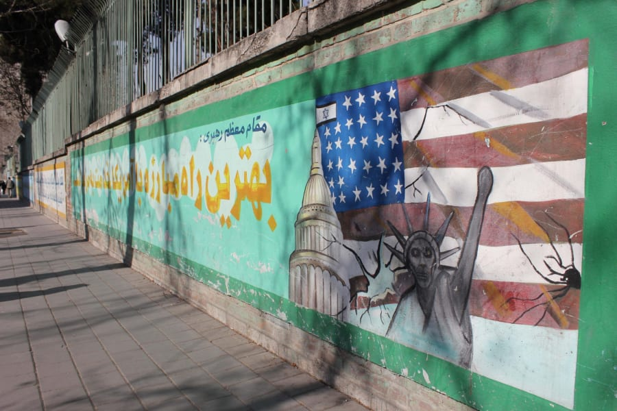 Tehran US embassy exts Scenes from the field