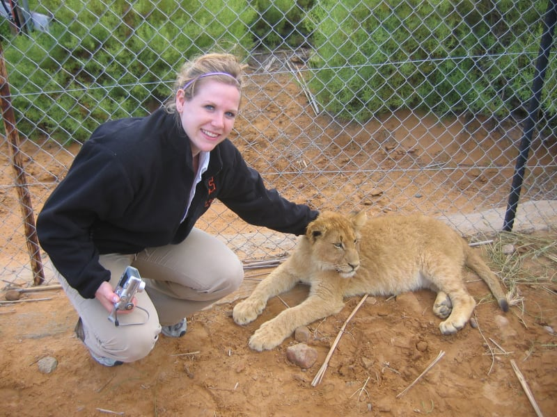molly in South Africa