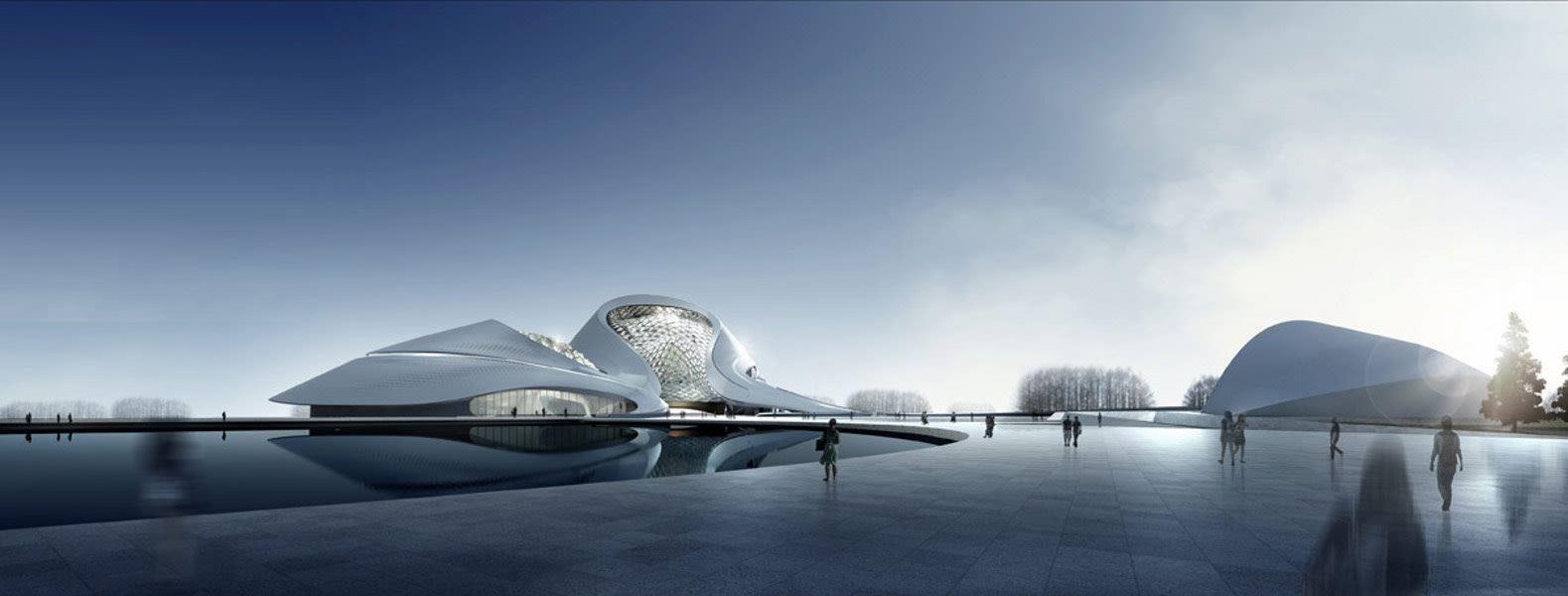 Buildings of 2014 Harbin Cultural Center