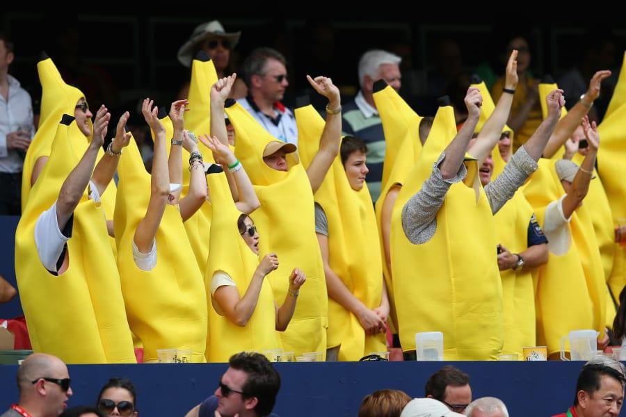 hong kong sevens bananas