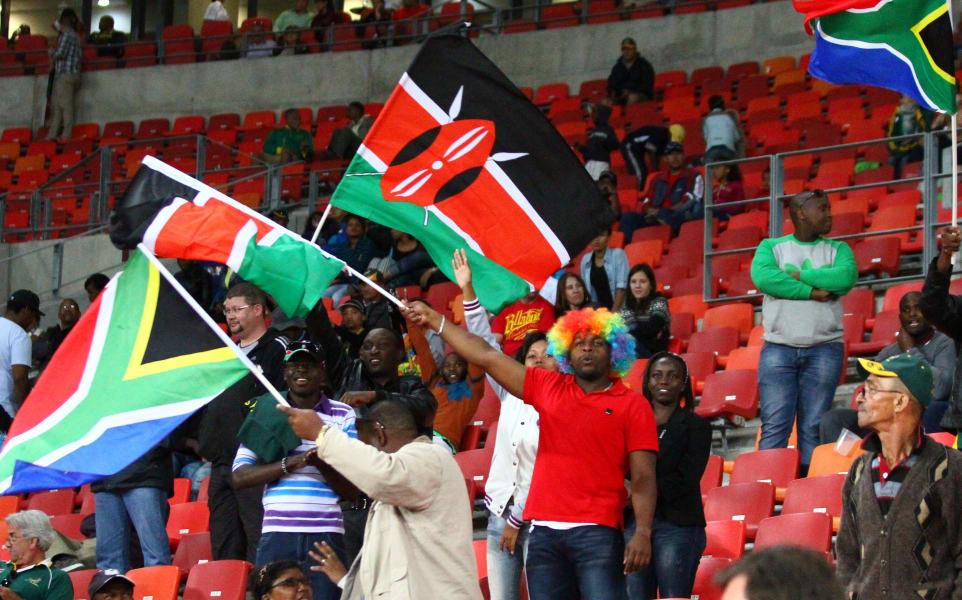 South Africa Kenya fans