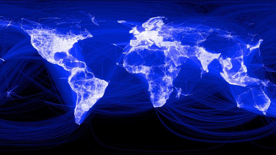 Facebook light map