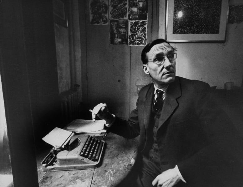 Burroughs typewriter RESTRICTED