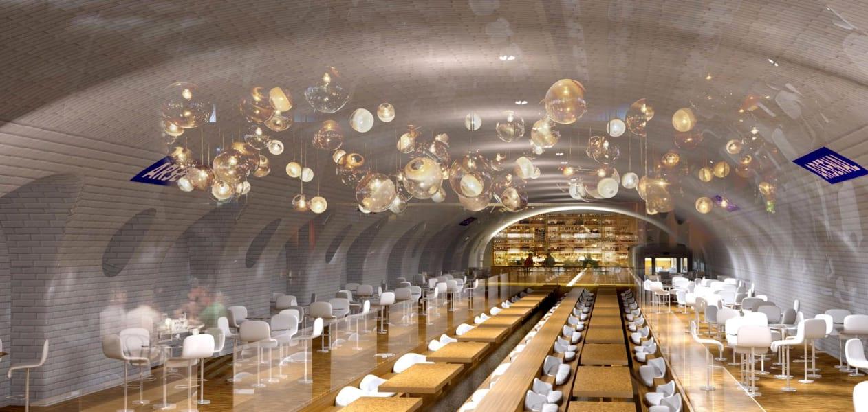 Arsenal metro restaurant