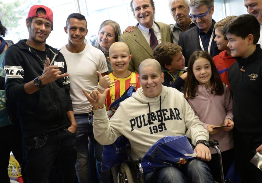 gallery neymar charity