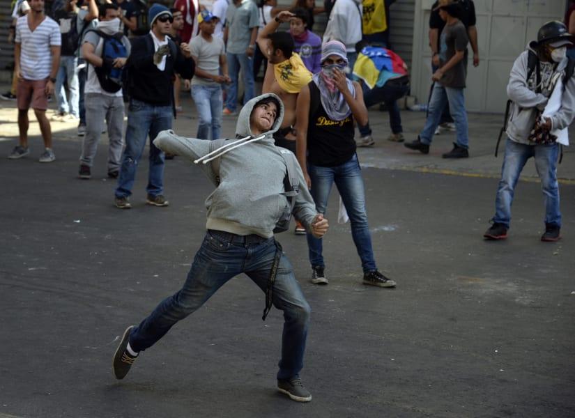 venezuela protestas feb 7