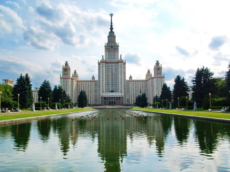 University Building - Lomonosov Moscow Main Building