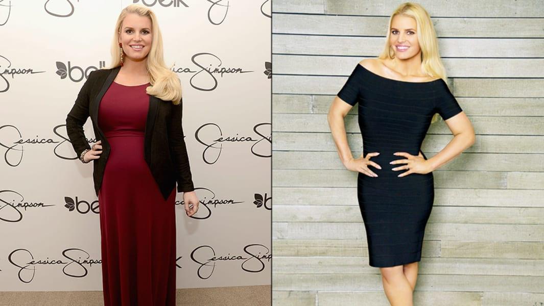 Jessica Simpson Weight Watchers split Feb 2014