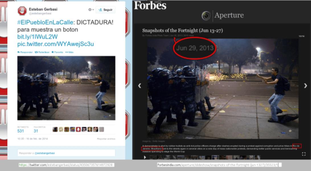 venezuela debunked brazil