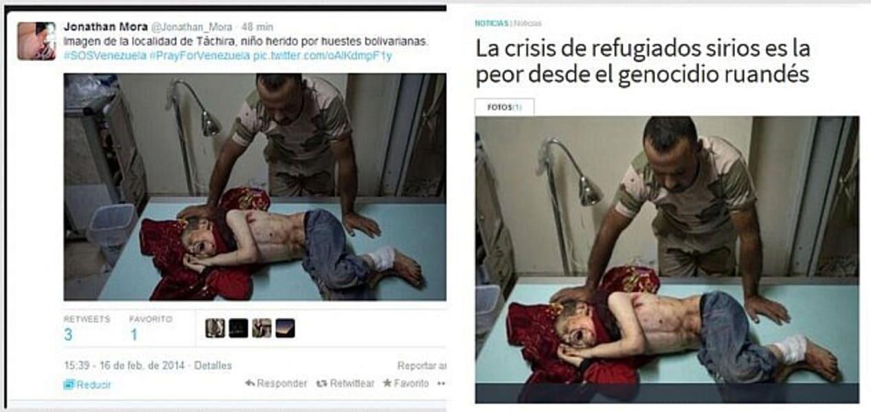 venezuela debunked syria