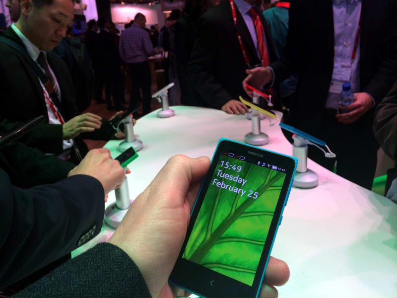 mwc nokia x peter bale