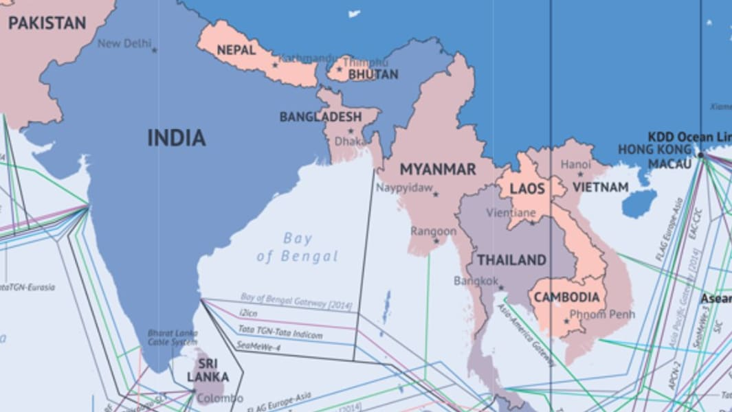 bangladesh submarine cable map 2014