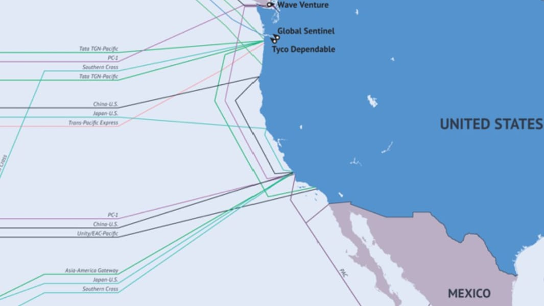 pacific submarine cable map 2014