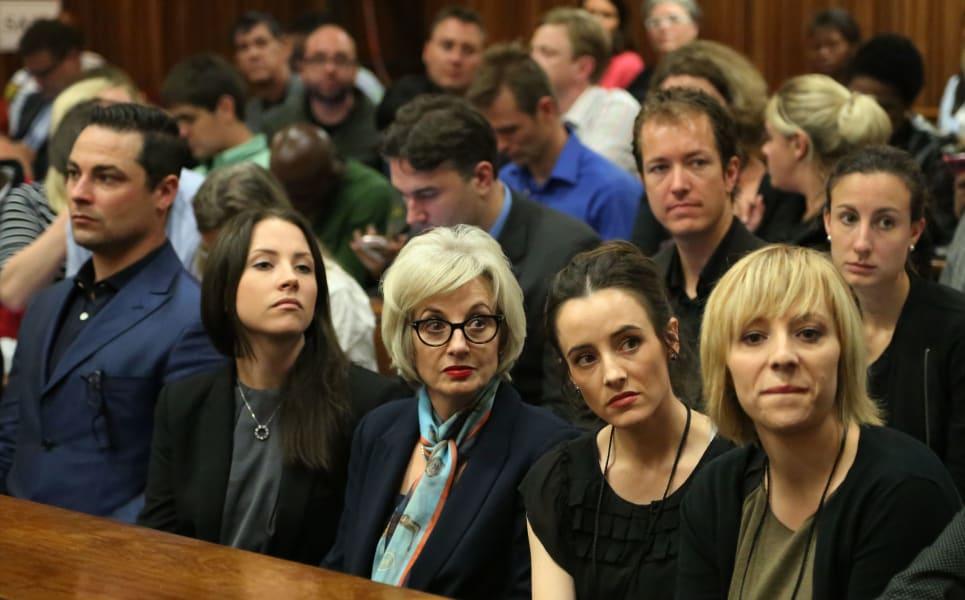 pistorius trial family