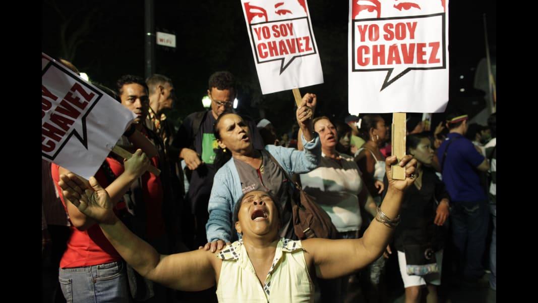 RESTRICTED Chavez death