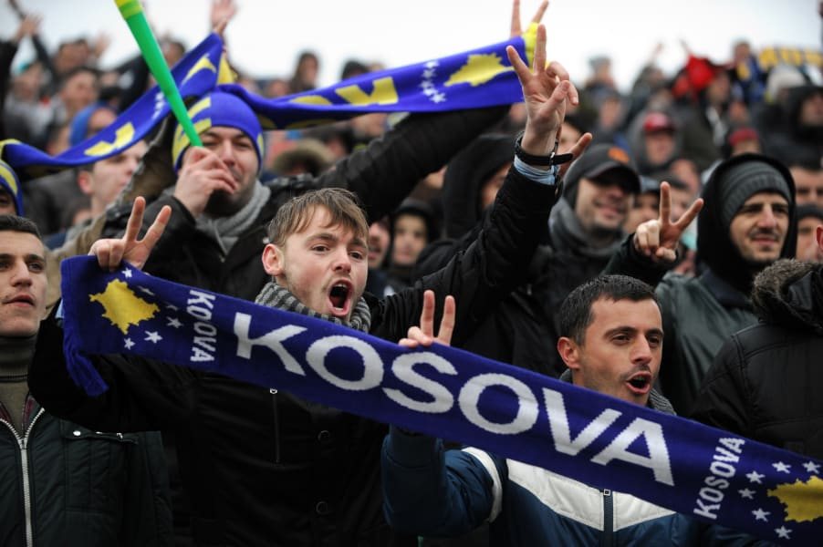 Kosovo fans