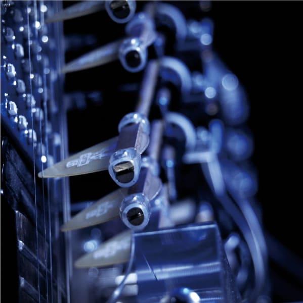 robot band close up