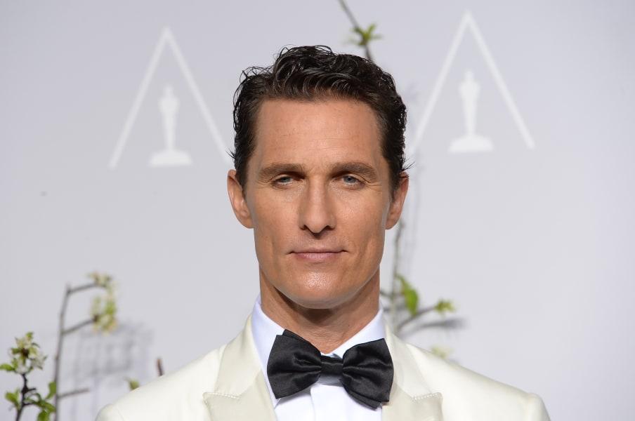 Matthew McConaughey March 2014