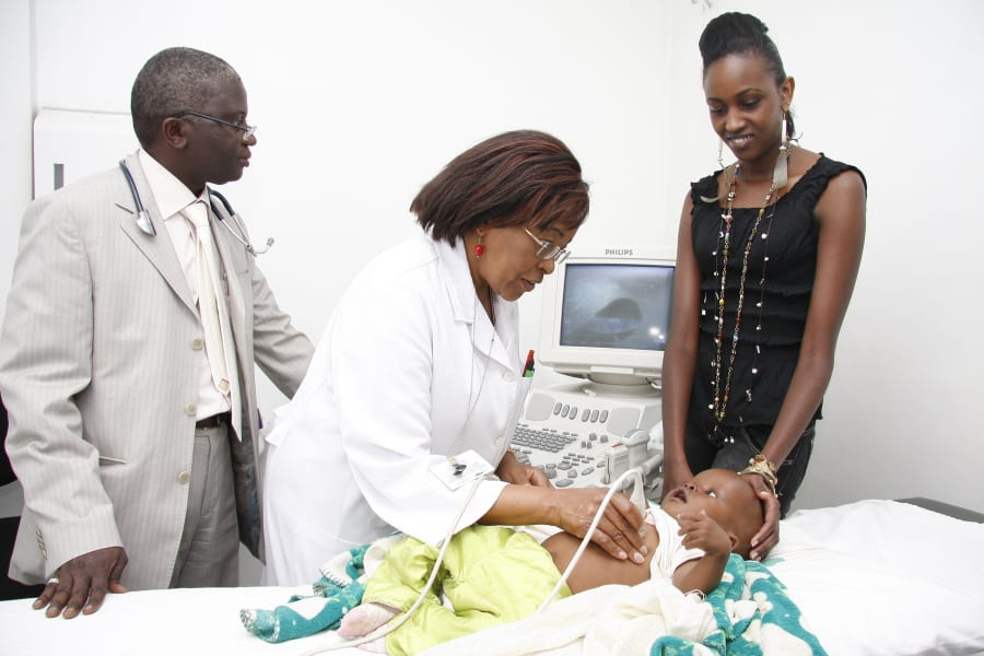Gikonyo performs medical