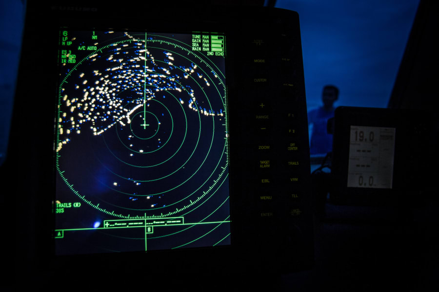 malaysian airlines navigational radar on Indonesia's National Search and Rescue