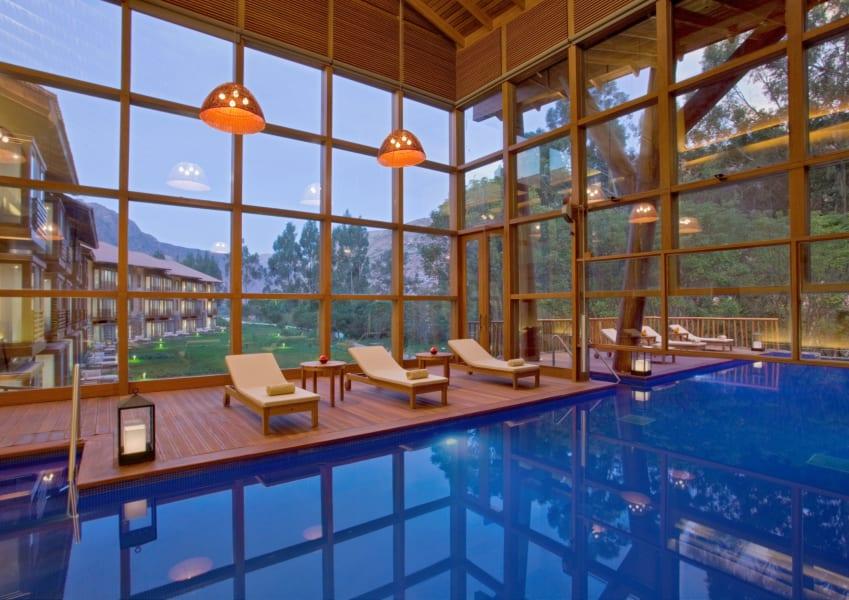 hotel indoor pools tambo del inka