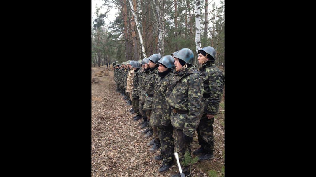 Ukraine Recruits Scenes from the field