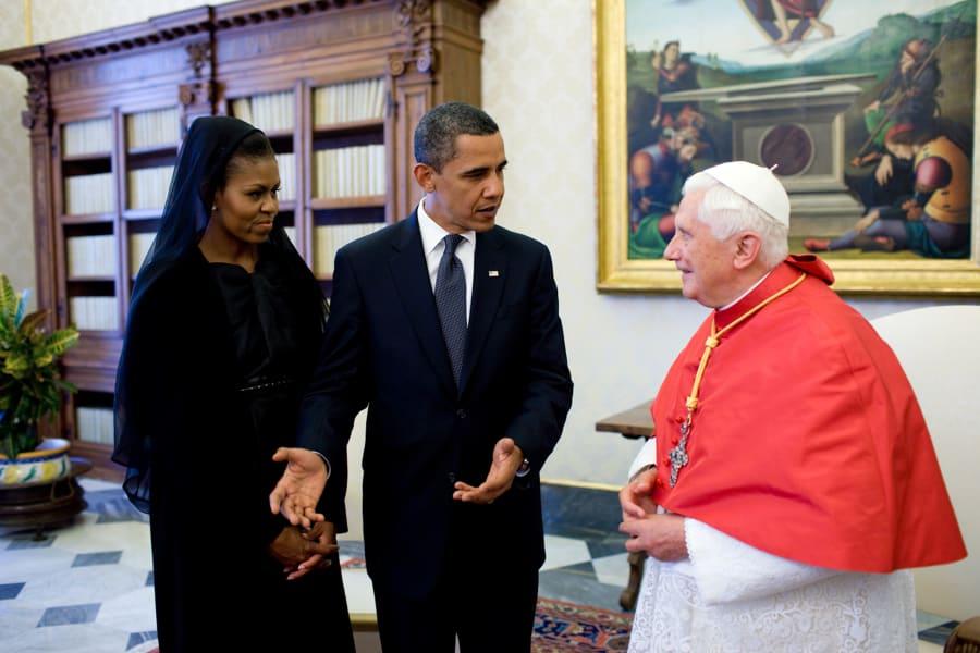 12 popes presidents