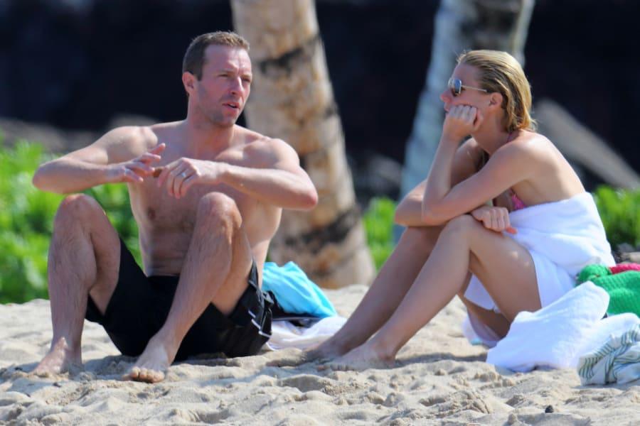 Gwyneth Paltrow Chris Martin FILE