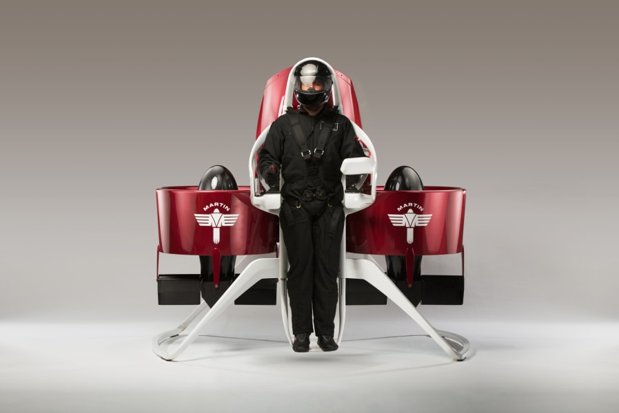 martin jetpack front view