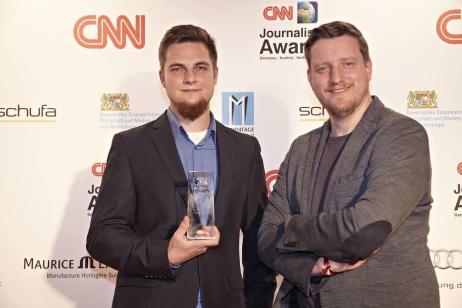 werner cnn journalist awards 2014