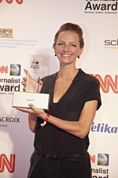 Jenny Marrenback cnn journalist awards 2014