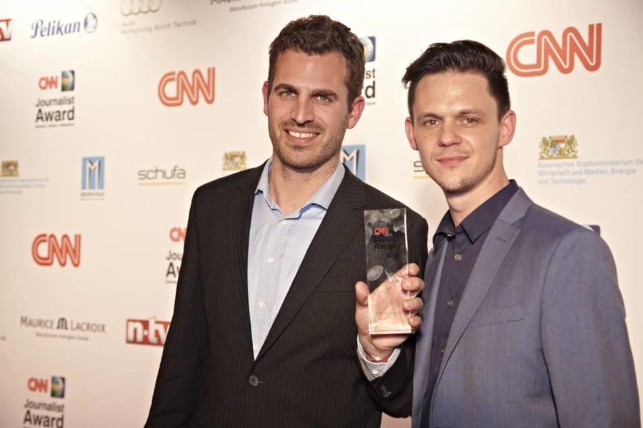 strompen schuck cnn journalist awards 2014