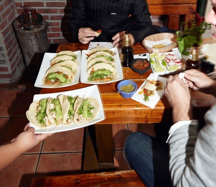2. tacos morelos