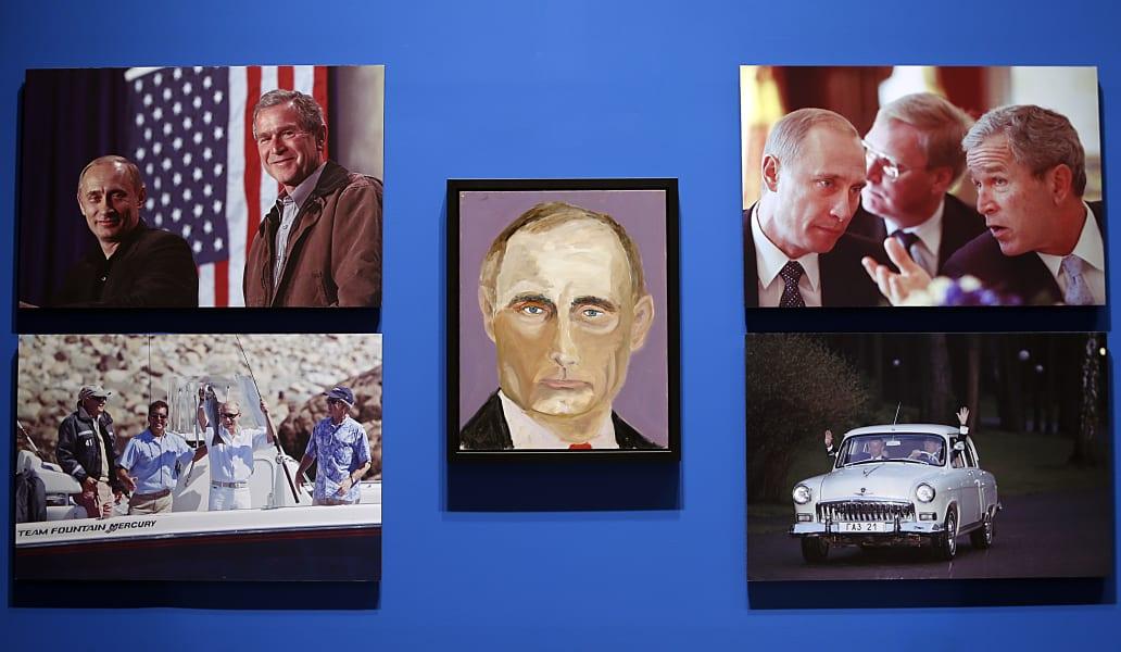 02 Bush paintings
