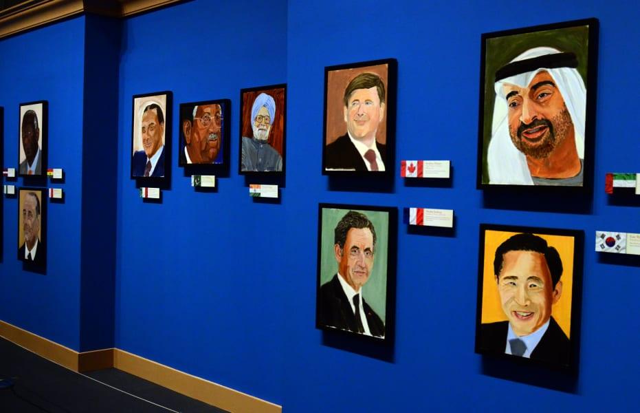 05 Bush paintings