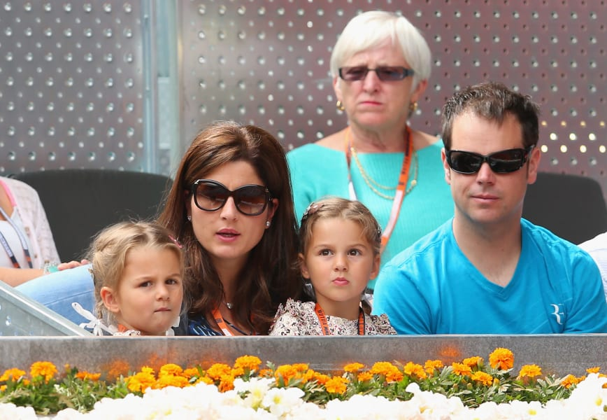 federer family photo