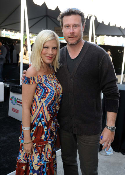 Tori Spelling Dean McDermott March 2012