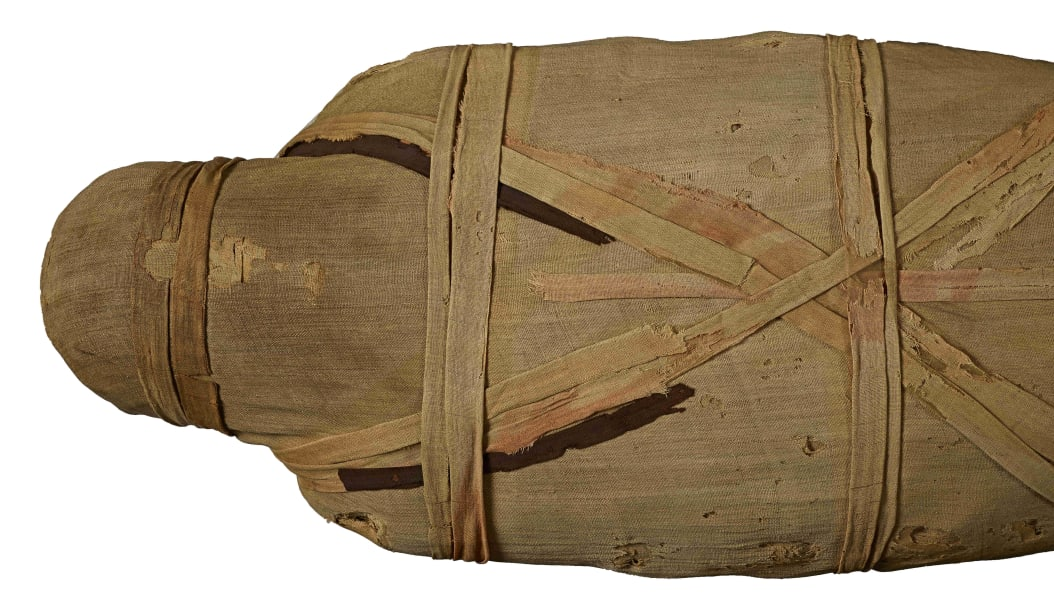 british museum mummy ct scan unknown man