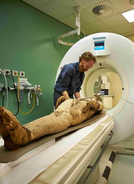 British Museum CT scan mummy