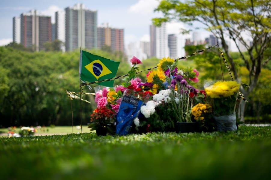 Ayrton Senna grave