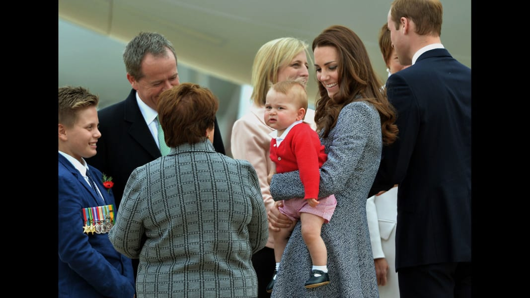 02 royals leave australia RESTRICTED