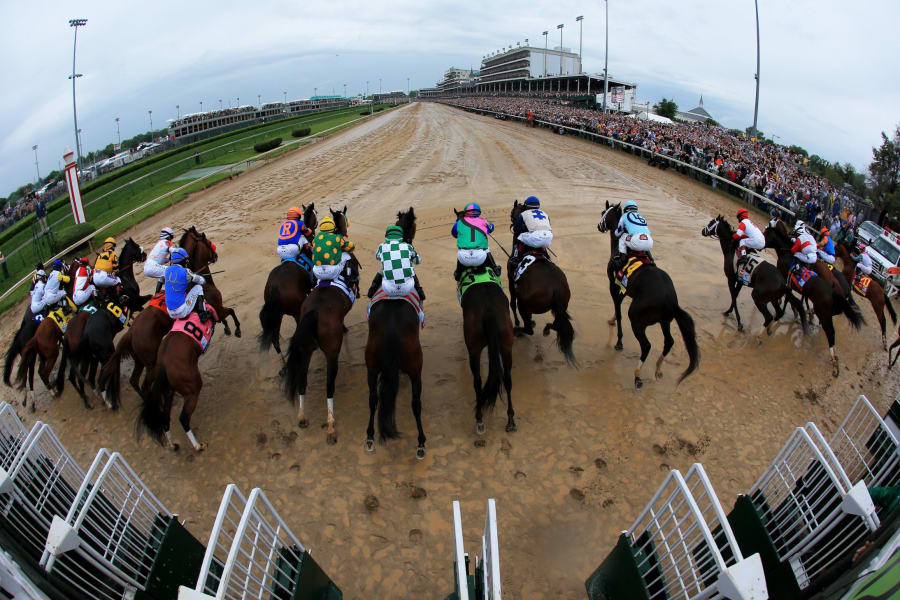 kentucky derby overhead stalls