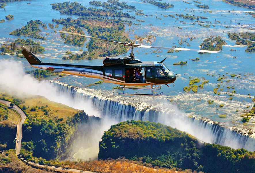 aerial africa huey victoria
