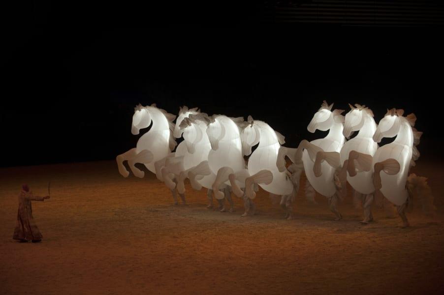 horse ceremony