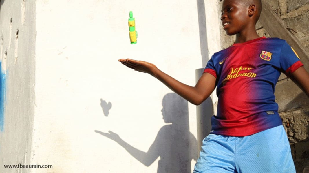 Monrovia animated child soldier Francois Beaurain