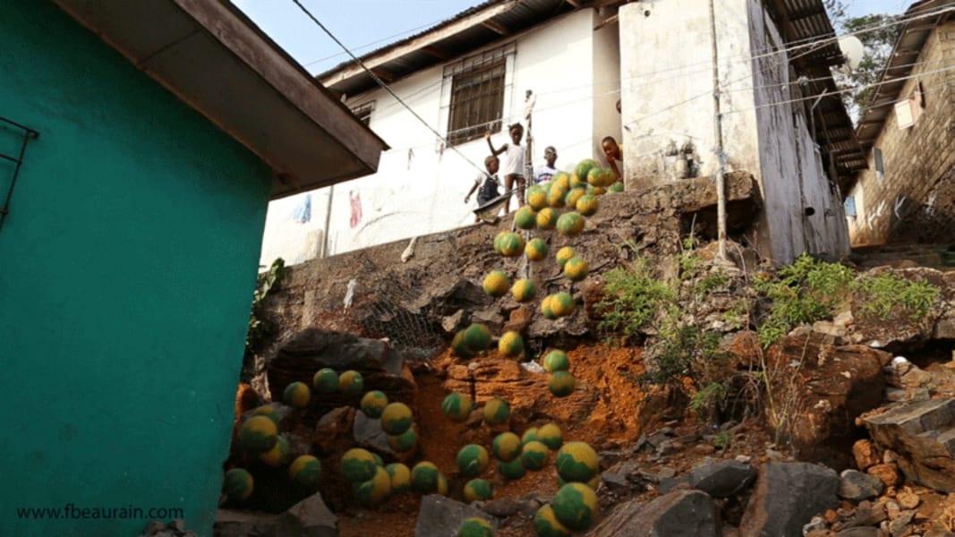 Monrovia animated Monrovia falls Francois Beaurain
