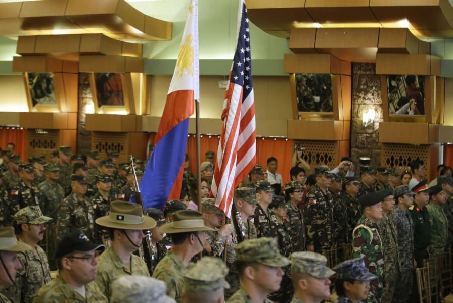 China Philippines Balikatan 2014