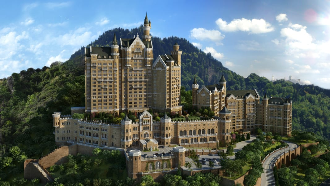 3. China hotels Castle Hotel